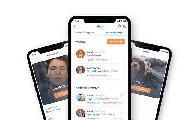 Patzo Hunde App: Übersicht