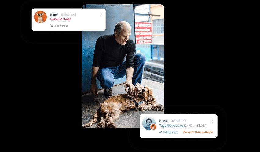 Patzo Hunde App: Netzwerk helfender Hände