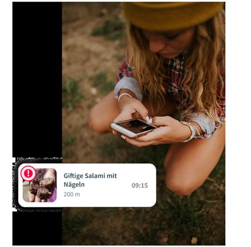Patzo Hunde App: Giftköder Warnungen in Echtzeit posten und sehen